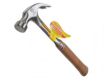 E16C Curved Claw Hammer - Leather Grip 450g (16oz)